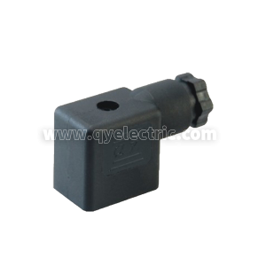 DIN 43650B Solenoid valve connectors without LED,Female power connector,PG9