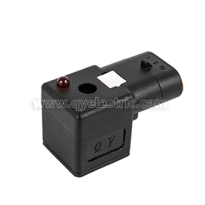 DIN 43650A Waterproof Solenoid valve connector