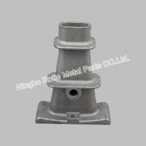 3×0.5′ Flat Anchors With Grey Iron For Post Tensining And Prestressing