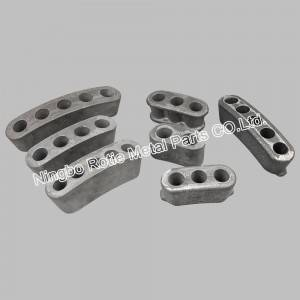 Series Oran Head Pẹlu Ductile Iron & SG Iron Fun Post Tensining Ati Prestressing