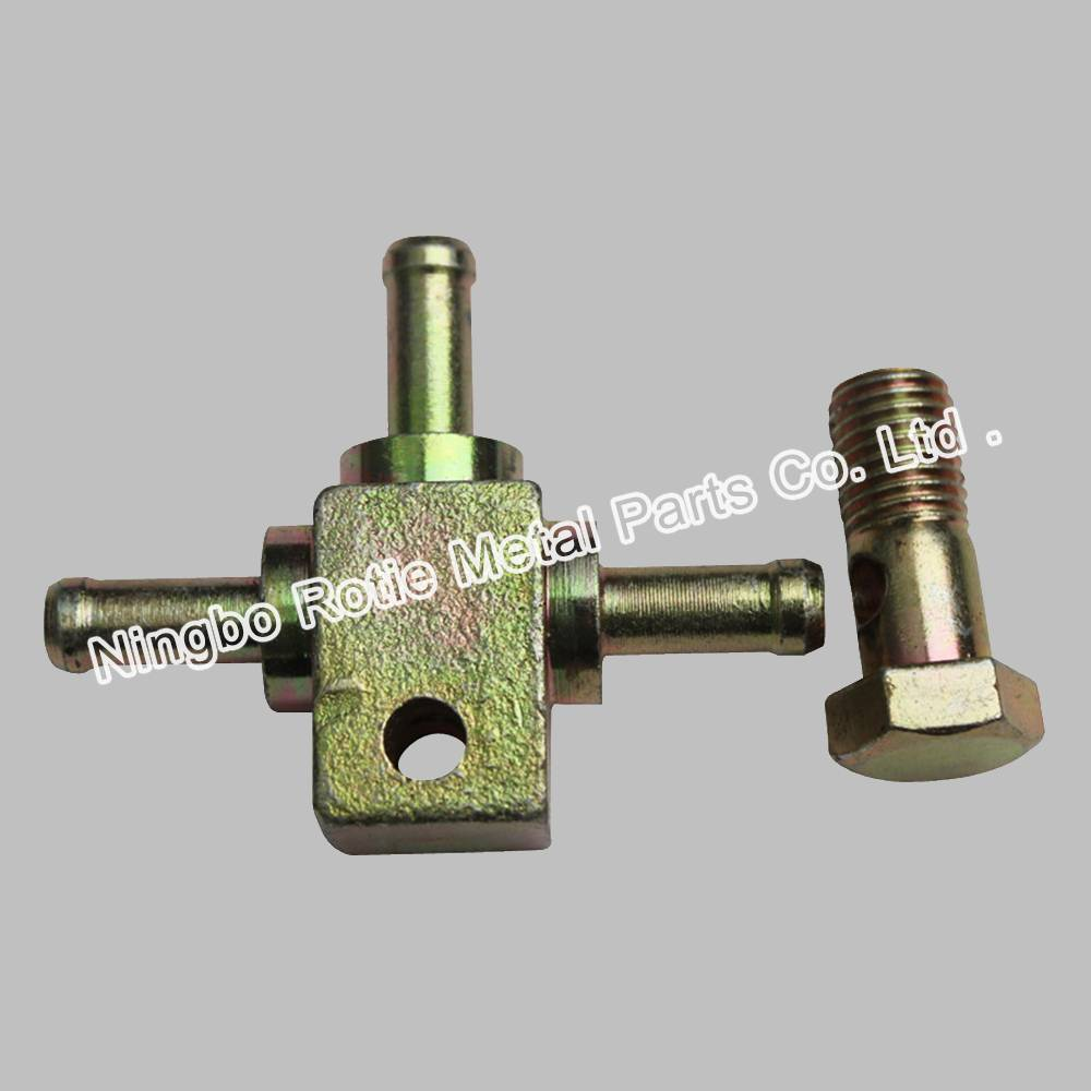 High Quality for Cnc Turning Auto Spare Part - Hydraulic Fitting – 45# Steel – Rotie Metal
