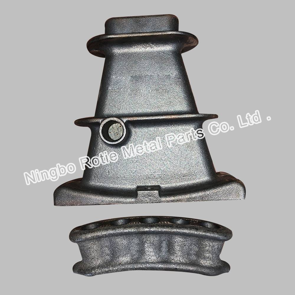 5×0.5 flat anchor head – Ductile iron