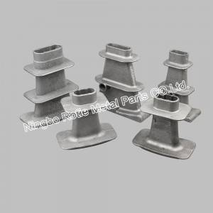 Series Flat Anchors With Grey Iron For Post Tensining And Prestressing