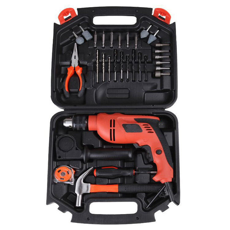 28 pieces multi-functional hardware impact drill household power tools set