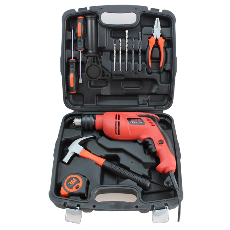 12pcs multi-functional hardware impact drill household power electric tool set