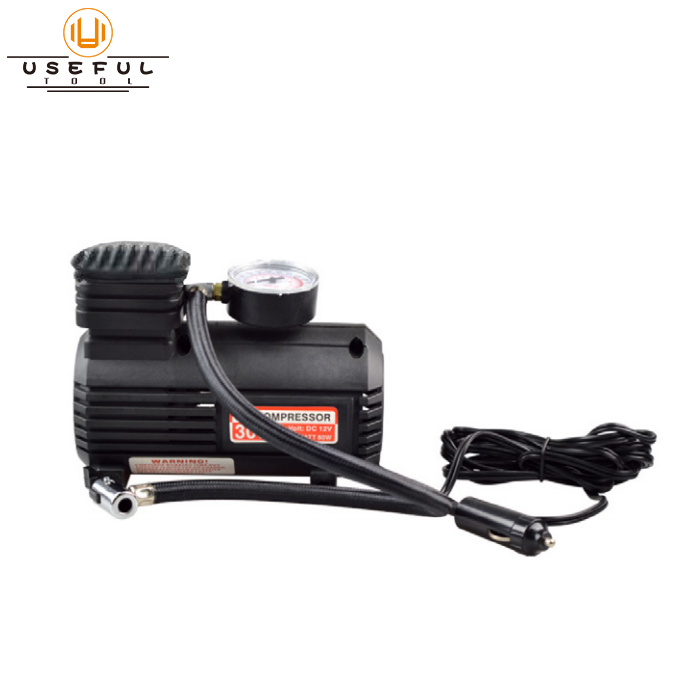 DC 12V high pressure inflator air pump car air compressor Featured Image