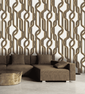 Home decor wallpaper wallcovering new design