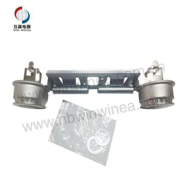 GE WB16K10026 Gas rozsah Double Burner Assembly