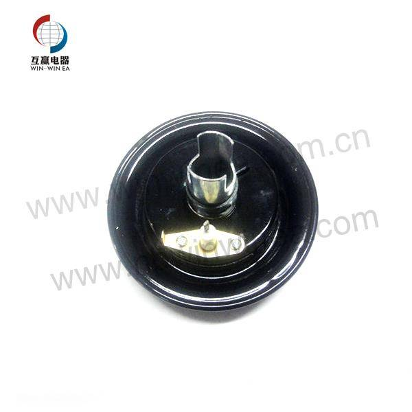 Whirlpool Brander Parts Black Brander Cap Replacement 12500050
