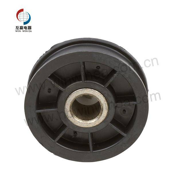 Y54414 Maytag Samsung Dryer Parts Black Wheel Idler Pulley