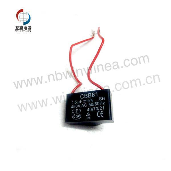CBB61 Motor Fara Capacitor Featured Image