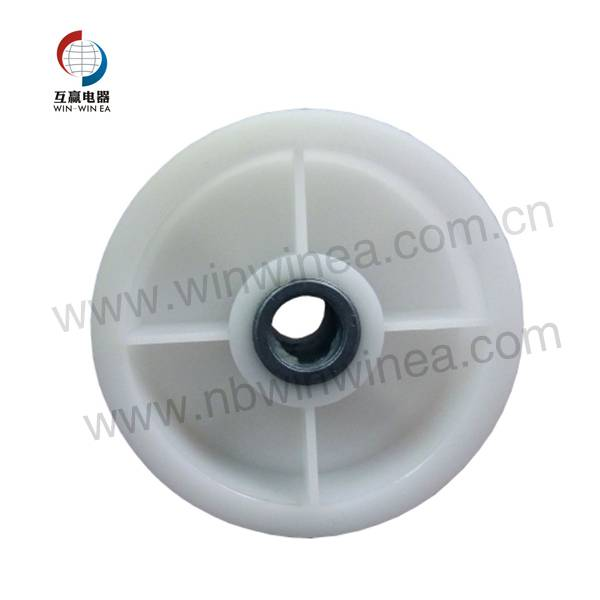 6-3700340 Whirlpool fanamainana Plastika kamo Pulley Wheel