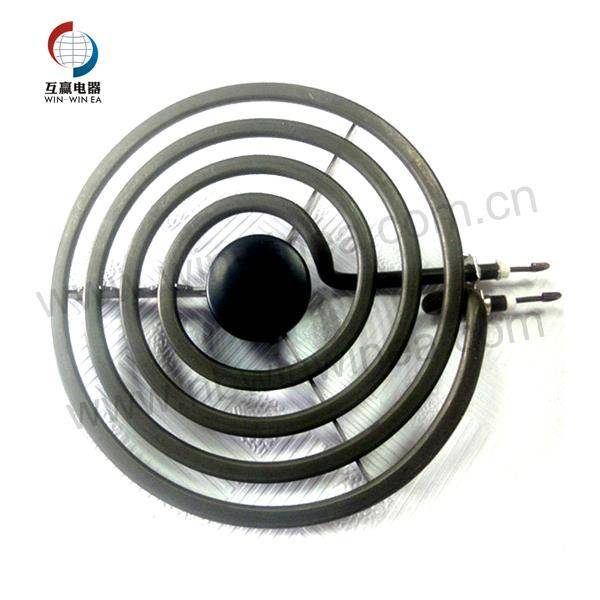 Burner Parts Electric Heating lumahing unsur 6 inci Kanthi 4 Circular Coil Wraps