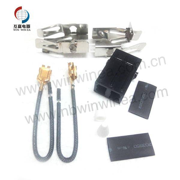 Samsung Gas Burner Parts lumahing unsur Receptacle Kit 330031