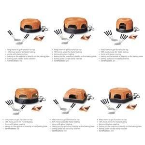 Hot sale Factory 15l Smart Electric Oven Mini Pizza Oven Home Baking