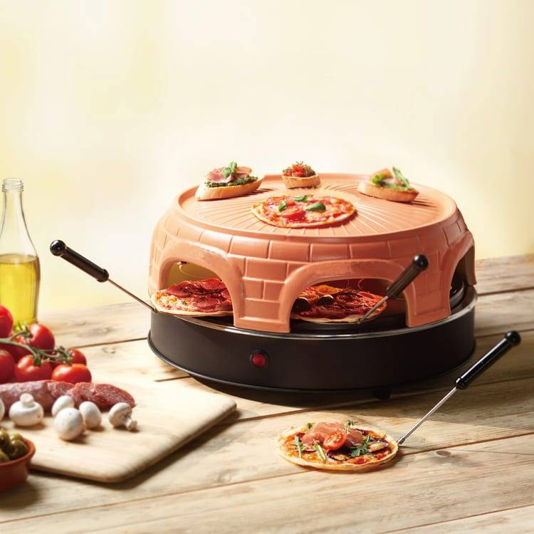 Keep Warm Grill Electric Mini pizza oven Featured Image