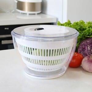 Kitchen Tools Salad Mixer Plastic Manual Fruit and Vegetable Salad Spinner