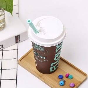 Safety Reusable Foldable Silicone Drinking Straws