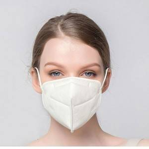 High Quality Fold 4 ply Reusable KN95 Face Shield Masks