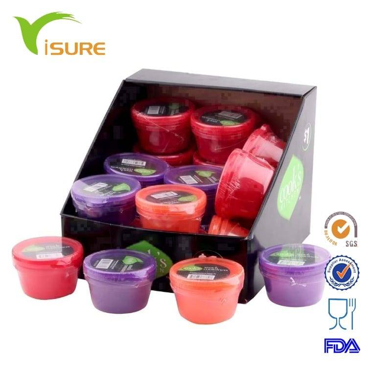 Set Top Box New Style Eco-friendly For Child Plastic 2pcs Snacks Candy Box Set