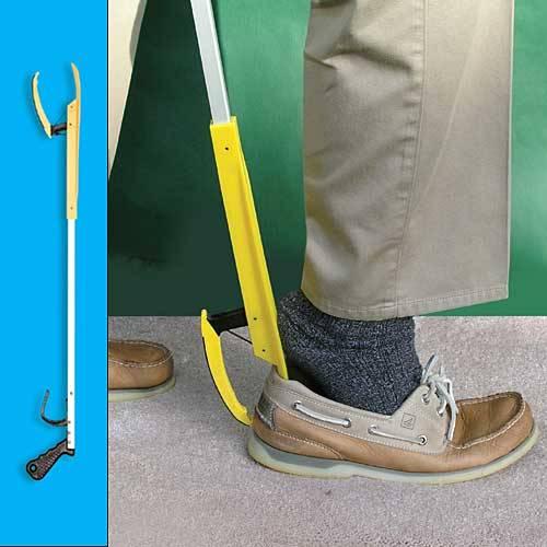 Shoe Grabber 6043 aluminum shoe horn grabber