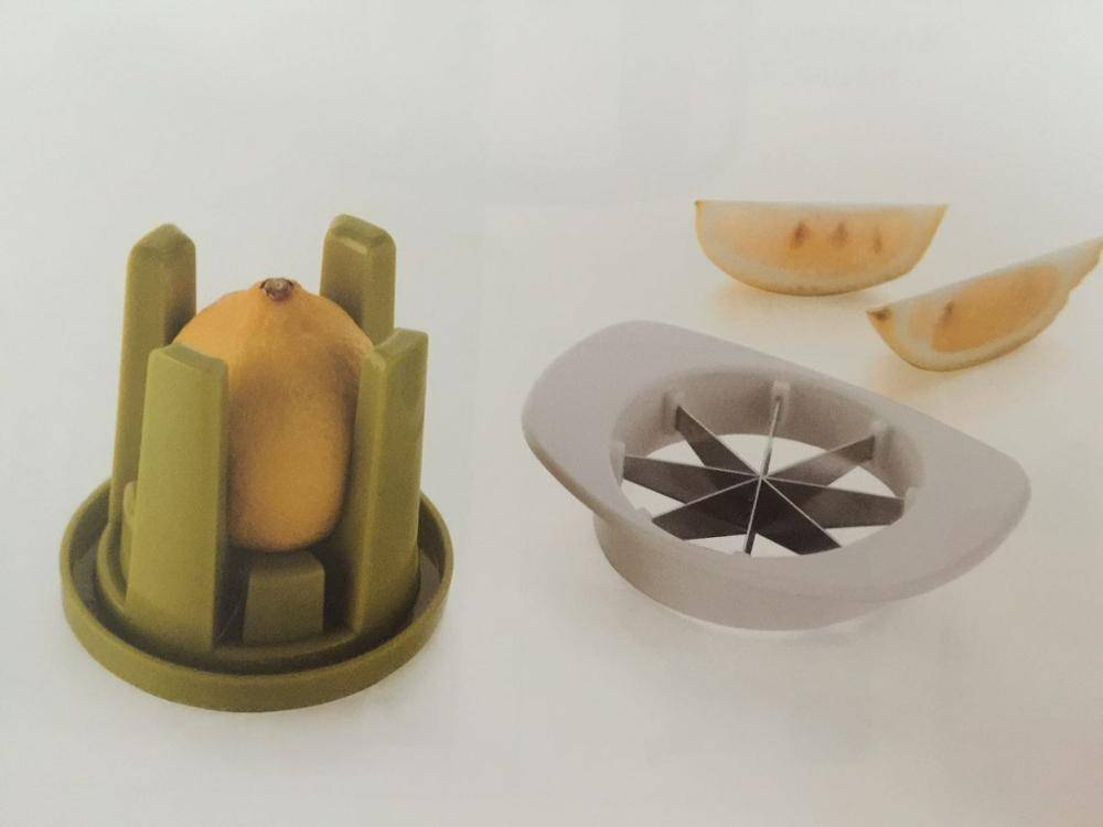 Kitchen Helper Tools Stainless Steel Cutting Blades Lemon And Lime Fruit Citrus Slicer Cutter
