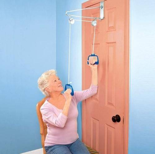 Overdoor Upper Body Exerciser