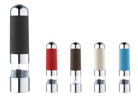 Electric Ceramic Salt and Pepper mill stainless steel salt and pepper grinder