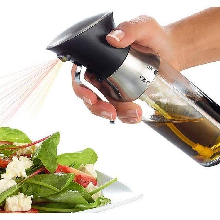 Plastic 2 in 1 Oil and Vinegar Dispenser Oil & Vinegar Bottle Sprayer For Cooking