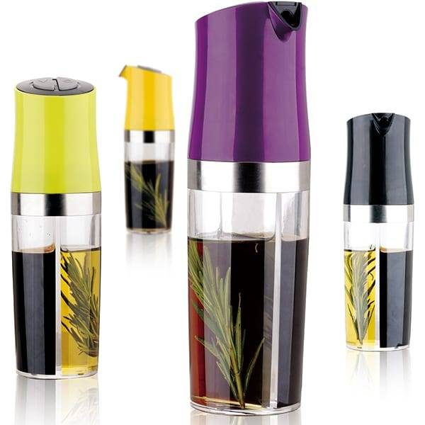 2 in 1 Oil & Vinegar Dispenser Mister Dispenser For Cooking Oil & Vinegar Bottle Featured Image