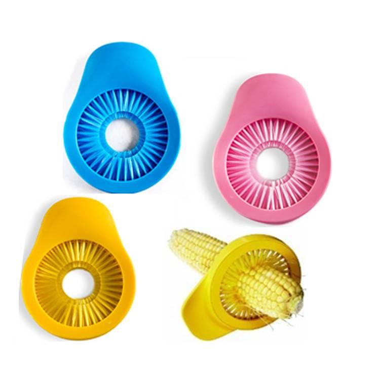 Plastic Corn Desilker Corn Brush Circular Peeler Clean Glide