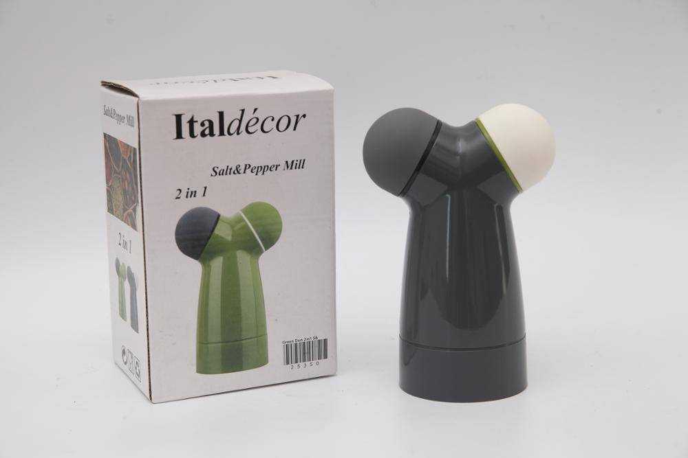 2 in1 salt and pepper mill 9621 salt shakers manual Salt and Pepper grinder