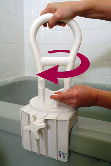 Rotating Bath Safety Rail