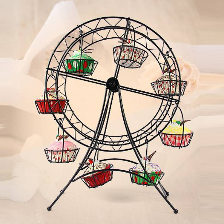 The ferris wheel Cupcake Stand for 18 cupcakes