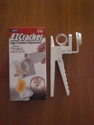 Easy Design EZ Cracker Egg Cracker Separator Egg Cutter