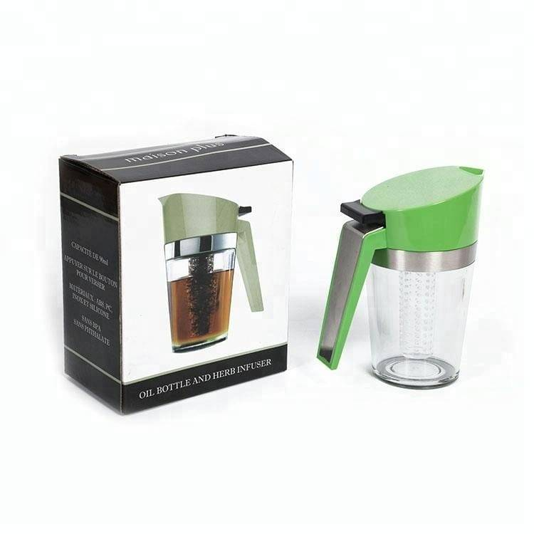 Plastic 2 in 1 Oil & Vinegar Dispenser Oil & Vinegar Bottle Sprayer For Cooking Featured Image