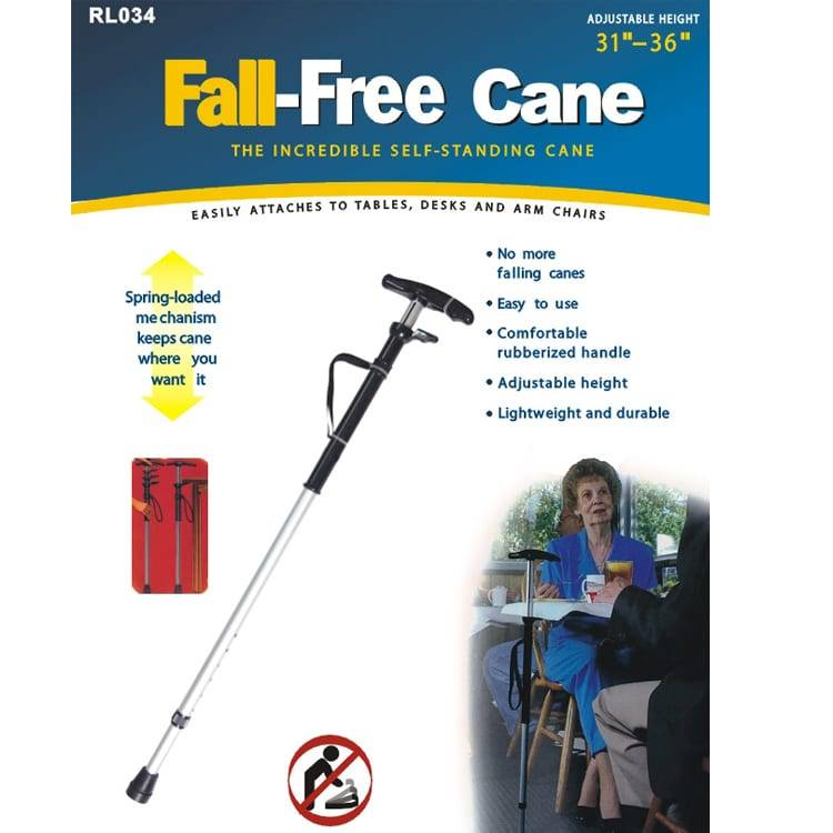 Fall-free Walk Cane