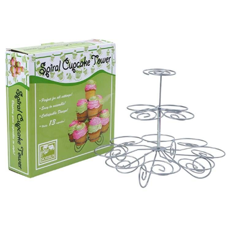 3 tier Iron Steel Cupcake Stand Featured Image