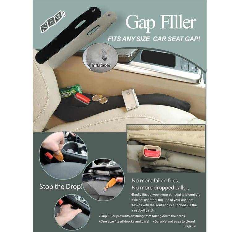 Car Seat Cap Filler