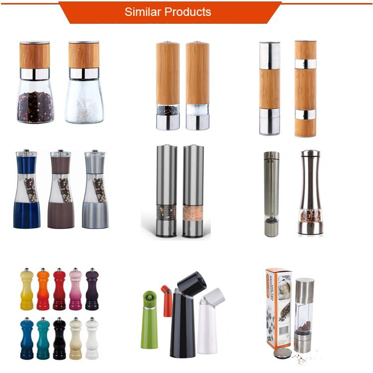 2018 NEW Home Kitchen Gravity Electric Pepper Mill,Salt and Pepper Grinder,gravity pepper mill