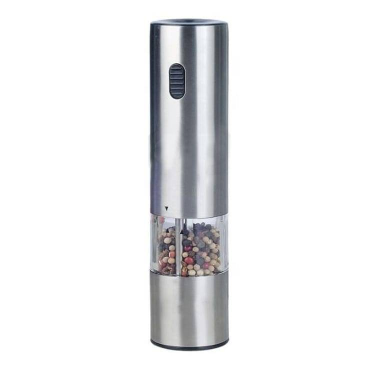 Bare Aluminum Steel Automatic Pepper -