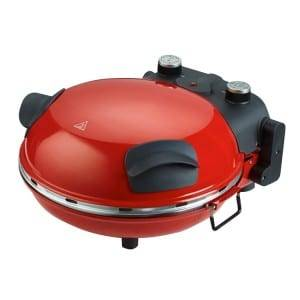 Electric Pizza Oven Cooking in 5 minutes,timer,ceramic plate