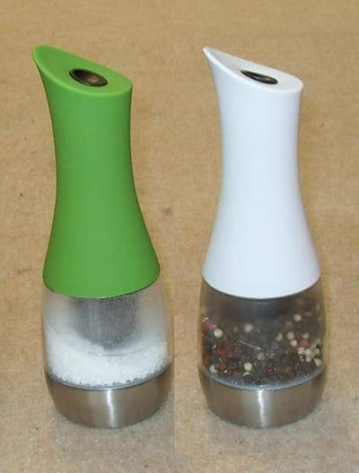spice grinder 9518 Electric pepper mill with light