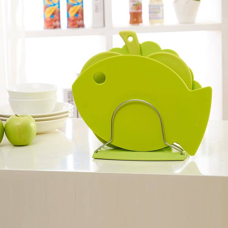 3pcs Special Shape Cutting Board Set New Design Fish Shell Apple Shape Chopping Board Featured Image