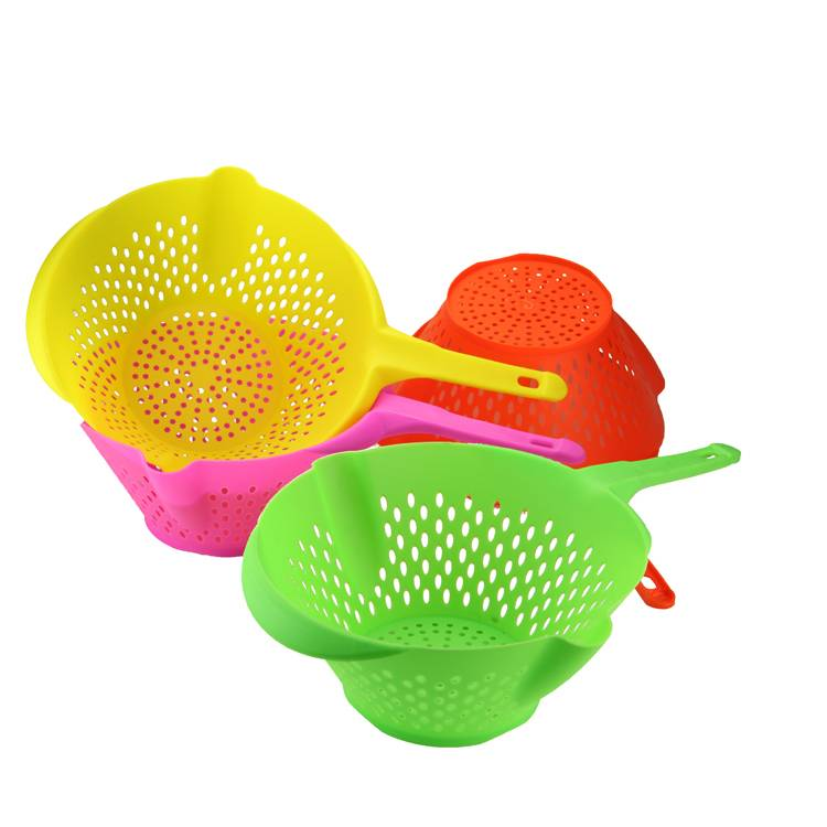 Plastic Drain Basket With Hand