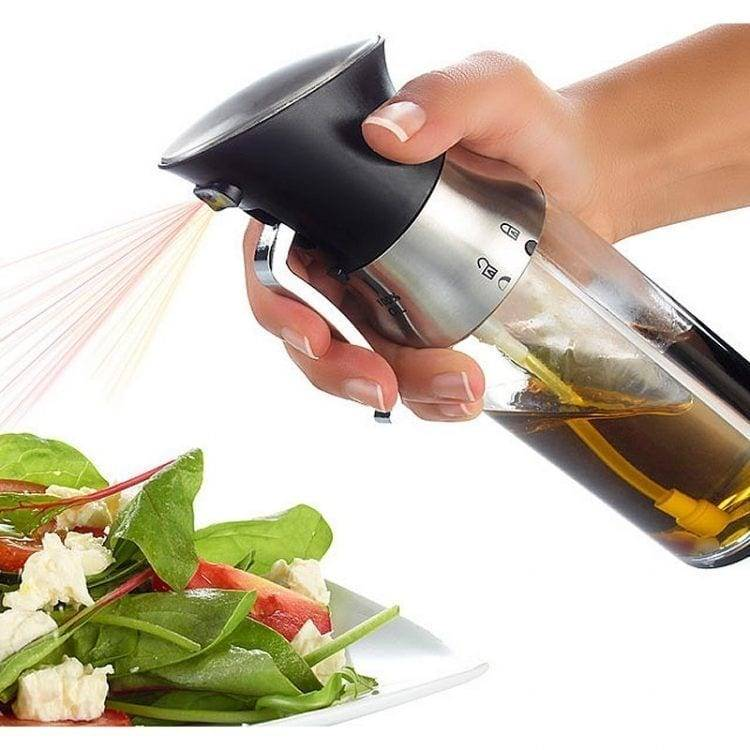 New Amazon 2-in-1 Olive Oil Cooking Dispenser Spraying Bottle