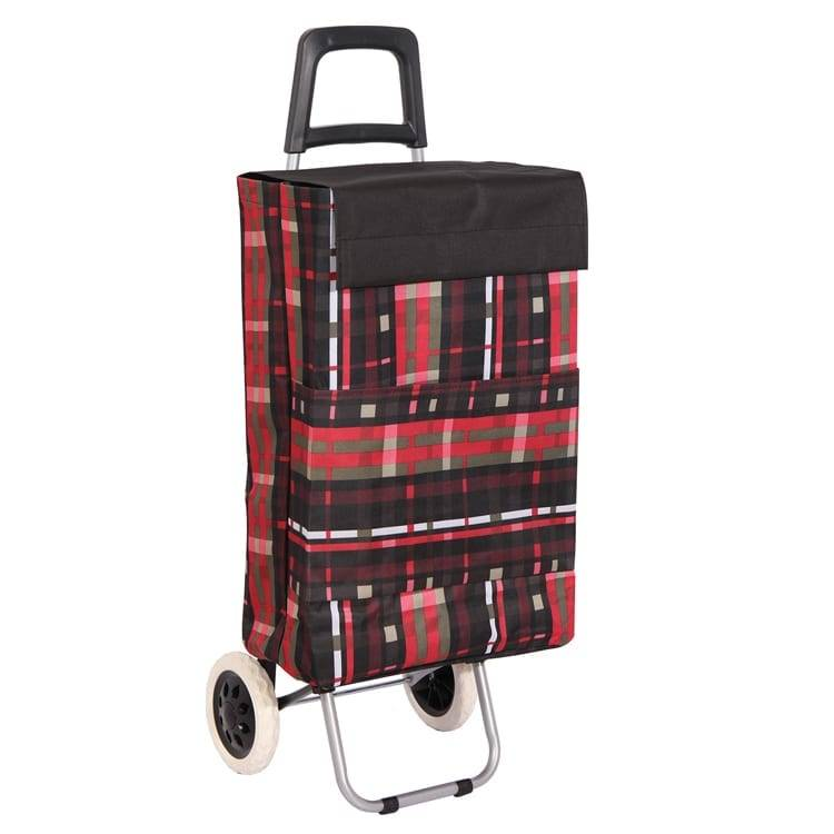 Luggage cart trolley light weight folding shopping trolley