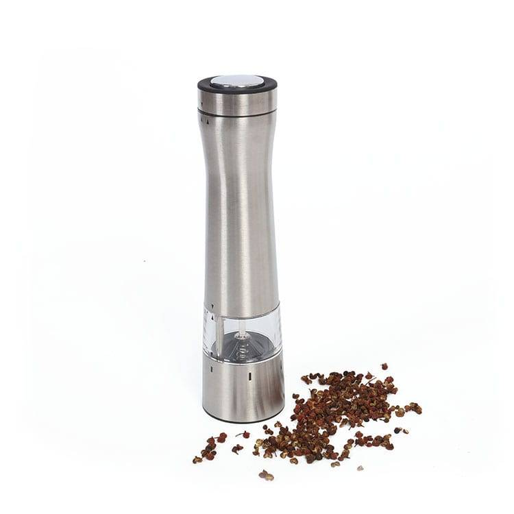 Electric Stainless Steel Salt Pepper Mills with light Featured Image