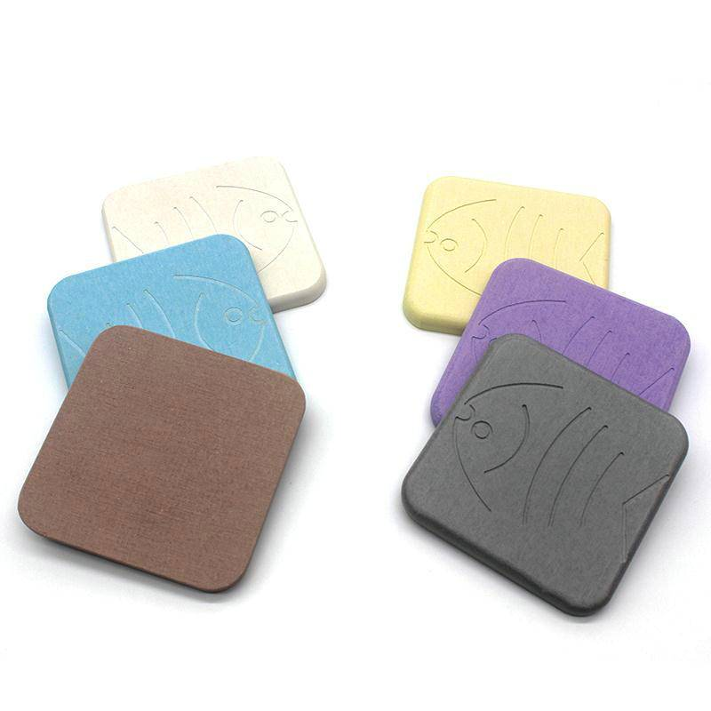 Excellent absorbent waterproof eco-friendly diatomite diatomaceous earth cup coaster