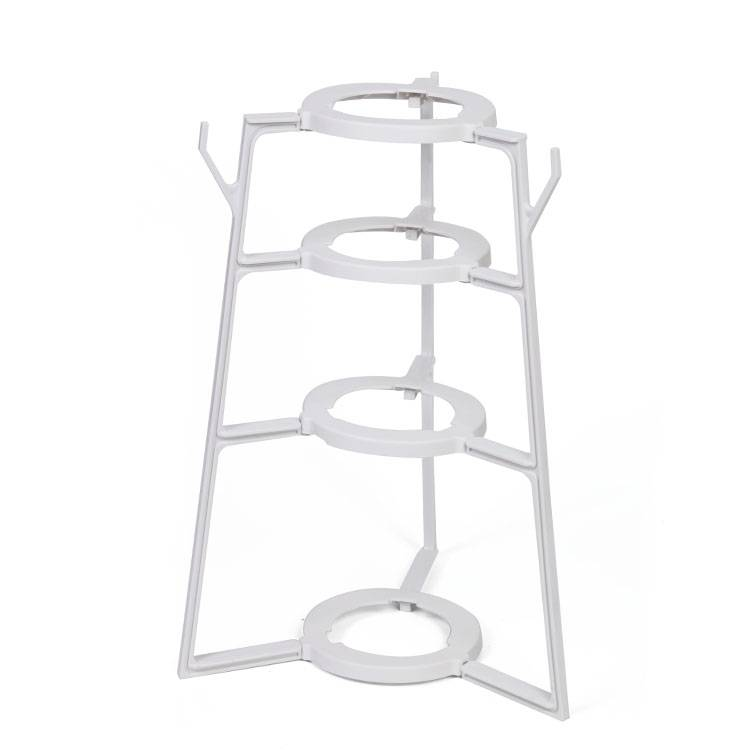 Plastic shelf Pot rack flower rack plastic Kitchen rack